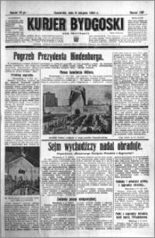 Kurjer Bydgoski 1934.08.09 R.13 nr 180