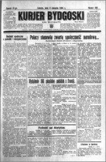 Kurjer Bydgoski 1934.08.11 R.13 nr 182