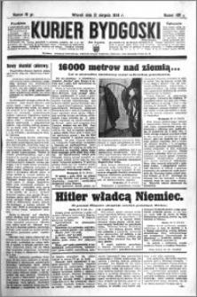 Kurjer Bydgoski 1934.08.21 R.13 nr 189