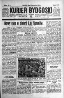 Kurjer Bydgoski 1934.09.20 R.13 nr 215