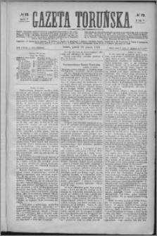 Gazeta Toruńska 1873, R. 7 nr 72