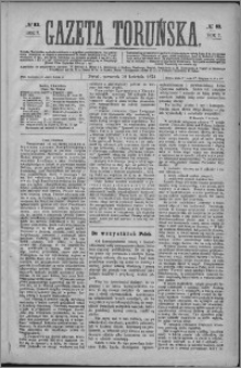 Gazeta Toruńska 1873, R. 7 nr 83