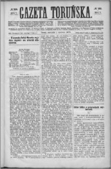 Gazeta Toruńska 1873, R. 7 nr 125 + dodatek