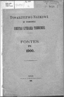 Visitationes ecclesiarum dioecesis Culmensis et Pomesaniae Andrea Leszczynski episcopo A. 1647. factae