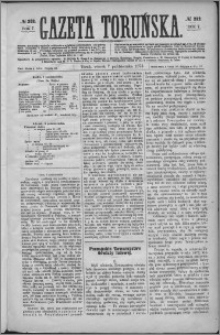 Gazeta Toruńska 1873, R. 7 nr 232 + dodatek