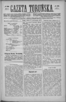 Gazeta Toruńska 1873, R. 7 nr 236