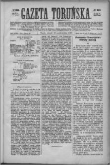 Gazeta Toruńska 1873, R. 7 nr 238 + dodatek