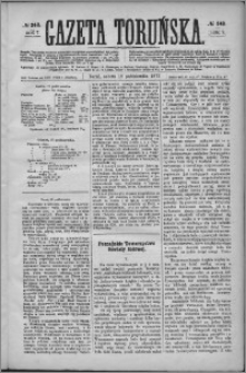 Gazeta Toruńska 1873, R. 7 nr 242