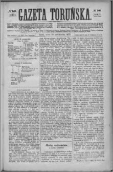 Gazeta Toruńska 1873, R. 7 nr 245