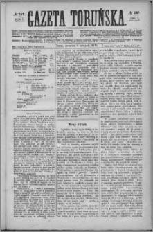 Gazeta Toruńska 1873, R. 7 nr 257