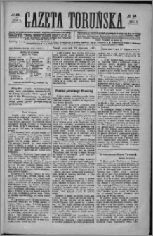 Gazeta Toruńska 1874, R. 8 nr 23