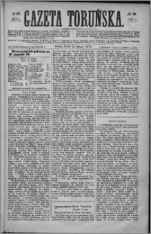 Gazeta Toruńska 1874, R. 8 nr 39