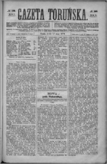 Gazeta Toruńska 1874, R. 8 nr 108