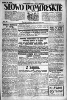 Słowo Pomorskie 1925.03.01 R.5 nr 50