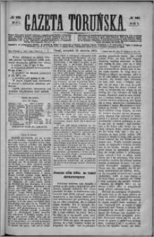 Gazeta Toruńska 1874, R. 8 nr 142