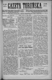 Gazeta Toruńska 1874, R. 8 nr 155