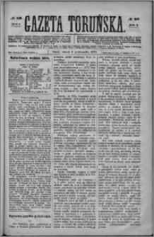 Gazeta Toruńska 1874, R. 8 nr 229