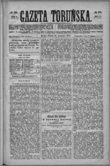 Gazeta Toruńska 1874, R. 8 nr 271