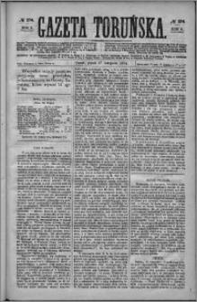 Gazeta Toruńska 1874, R. 8 nr 274