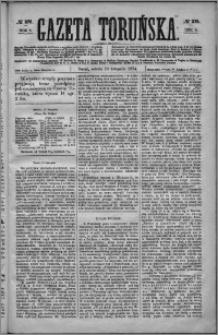 Gazeta Toruńska 1874, R. 8 nr 275