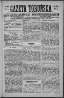 Gazeta Toruńska 1874, R. 8 nr 276
