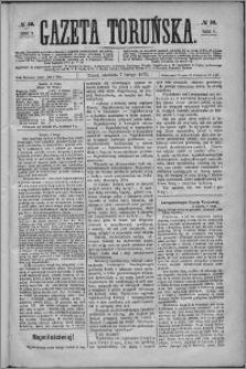 Gazeta Toruńska 1875, R. 9 nr 30