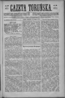 Gazeta Toruńska 1875, R. 9 nr 39