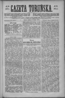 Gazeta Toruńska 1875, R. 9 nr 41