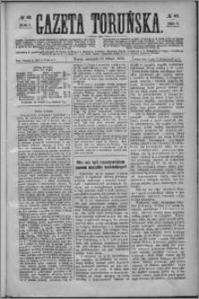 Gazeta Toruńska 1875, R. 9 nr 42