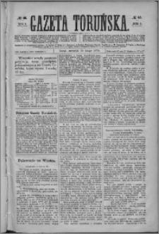 Gazeta Toruńska 1875, R. 9 nr 45