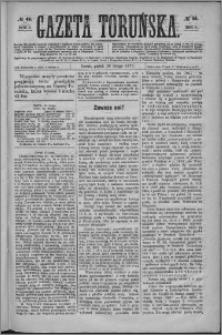 Gazeta Toruńska 1875, R. 9 nr 46