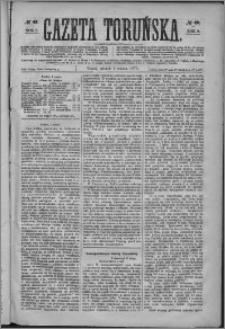 Gazeta Toruńska 1875, R. 9 nr 49