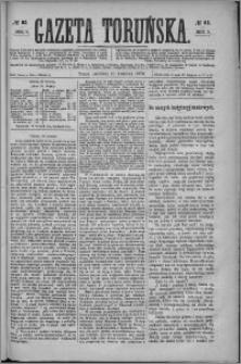 Gazeta Toruńska 1875, R. 9 nr 82