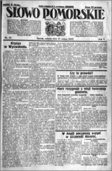 Słowo Pomorskie 1925.03.21 R.5 nr 67