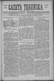 Gazeta Toruńska 1875, R. 9 nr 179