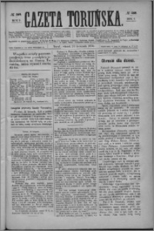 Gazeta Toruńska 1875, R. 9 nr 269