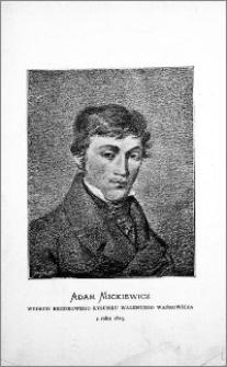 Młodość Mickiewicza (1798-1824) : życie i poezya. T. 1