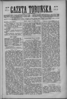 Gazeta Toruńska 1876, R. 10 nr 74