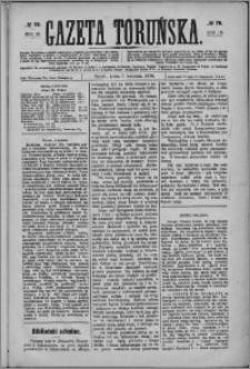 Gazeta Toruńska 1876, R. 10 nr 78