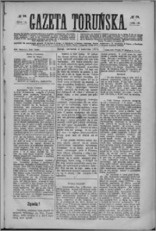 Gazeta Toruńska 1876, R. 10 nr 79