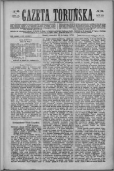 Gazeta Toruńska 1876, R. 10 nr 90