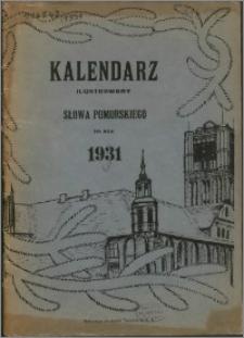 Ilustrowany Kalendarz Słowa Pomorskiego 1931