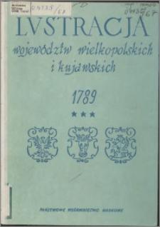 Lustracja województw wielkopolskich i kujawskich : 1789. Cz. 3, Województwa łęczyckie i brzesko-kujawskie