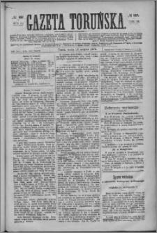 Gazeta Toruńska 1876, R. 10 nr 187