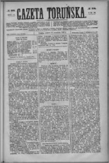 Gazeta Toruńska 1876, R. 10 nr 208