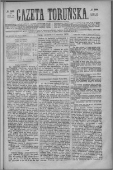 Gazeta Toruńska 1876, R. 10 nr 209