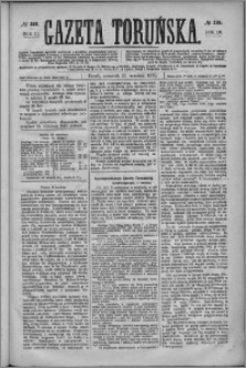 Gazeta Toruńska 1876, R. 10 nr 218