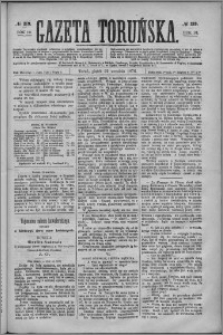 Gazeta Toruńska 1876, R. 10 nr 219