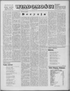 Wiadomości, R. 29 nr 2 (1451), 1974