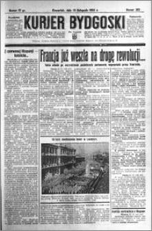 Kurjer Bydgoski 1934.11.15 R.13 nr 262